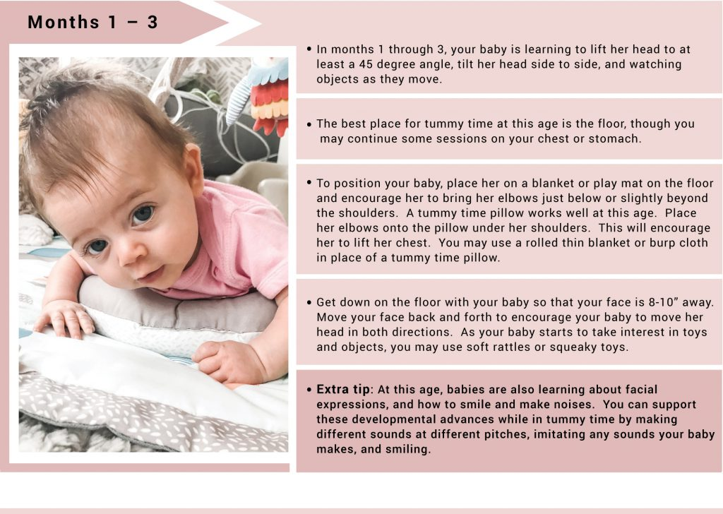 early child hood development and tummy time expert